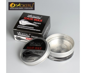 Water based hair wax pomade