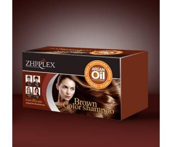 brown color shampoo