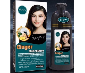 Natural fast black hair dye shampoo